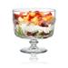 Artland Pearl Ridge Glass 88 Ounce Trifle Bowl