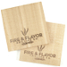 """Fire & Flavor Maple 6"""" Mini Grilling Plank, Set of 2"""