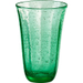 Artland Savannah Green Bubble Glass 18 Ounce Highball Tumbler
