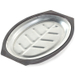 Nordic Ware Stainless Steel Oval Sizzling Steak Server