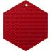 Lamson & Goodnow HotSpot Red Silicone Honeycomb Hexagon Trivet