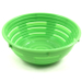 Scandicraft Green Round Plastic Bread Proofing Bowl, 2 Cup
