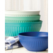 Nordic Ware 4 Piece Coastal Blue Prep and Serve Mixing Bowl Set