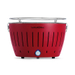 LotusGrill Blazing Red Smokeless Charcoal Grill With Transport Bag