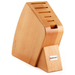 Wusthof 6-Slot Beechwood Studio Knife Storage Block