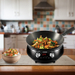NuWave Mosaic Precision Induction Cooktop with Carbon Steel 4 Quart Wok