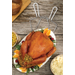 Harold Import Co. Holiday Roasting Turkey Lifter, Set of 2