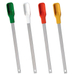 Stainless Steel with Silicon Handle Spatulas, Set of 4