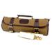Boldric Khaki Canvas Roll 9 Slot Knife Bag