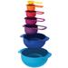 Joseph Joseph Nest Plus 7 Piece Compact Multicolored Food Preparation Set