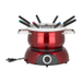 Trudeau 3-in-1 Electric Fondue Set with 6 Piece Assorted Fondue Fork Set