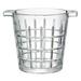 Artland Newport Ice Bucket with Ice Tong