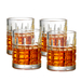 Artland Newport Glass 11 Ounce Double Old Fashioned Glass, Set of 4