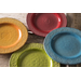 Foodesign Color of Italy Mixed Color Ceramic 16 Piece Dinnerware Set, Service for 4