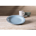 Mediterraneo Cream Ceramic 8-Inch Dessert Plate Set of 4