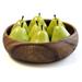 Pacific Merchants Acaciaware 10 x 3 Inch Round Calabash Bowl