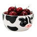 Boston Warehouse Figural Fun Earthenware Cow Bowl