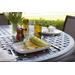 Fortessa Camp White Melamine Rectangular Coupe Platter, Set of 6