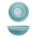 D&V La Jolla Sage Green Glass Serving Bowl