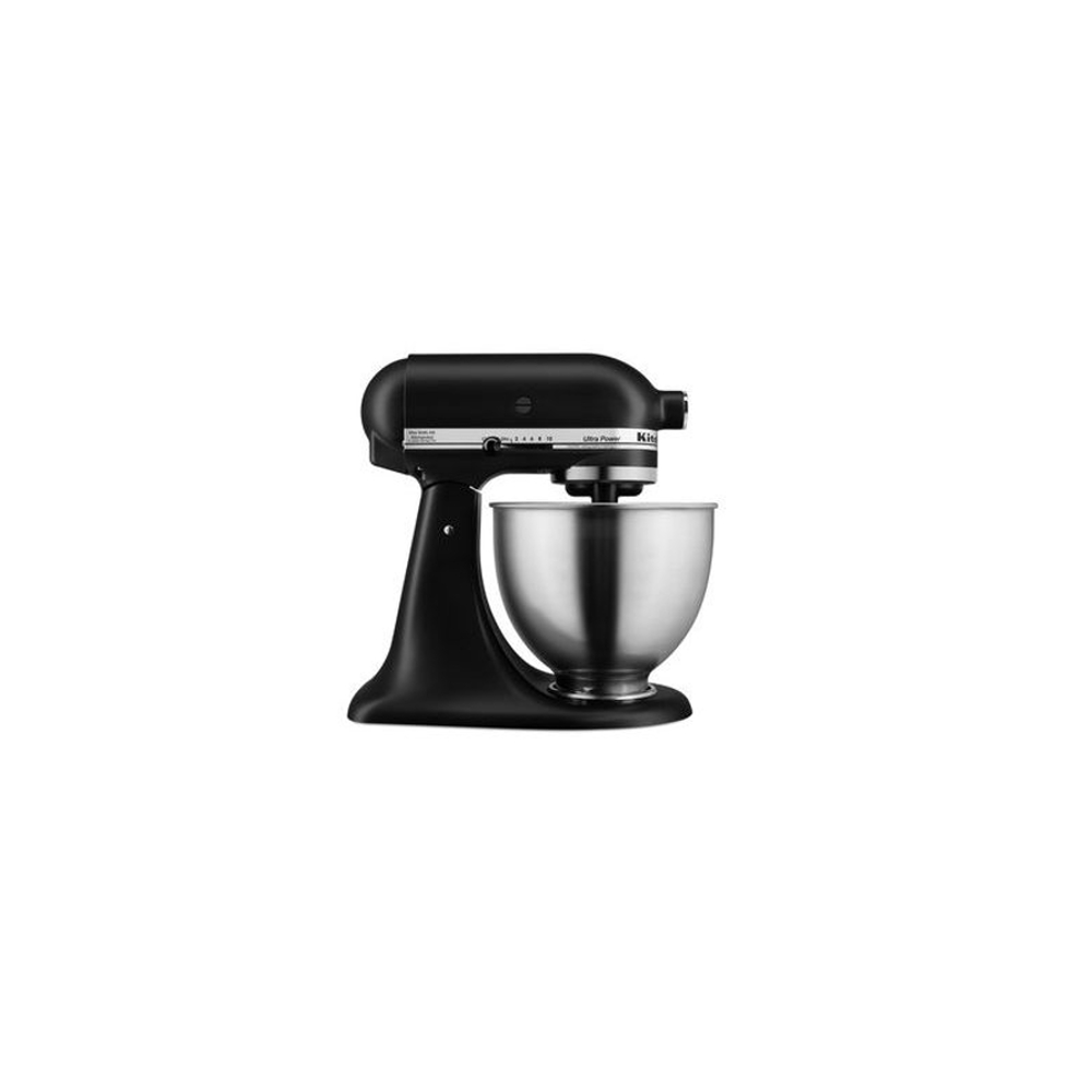 KitchenAid Matte Black Ultra Power 4.5 Quart Tilt-Head Stand Mixer