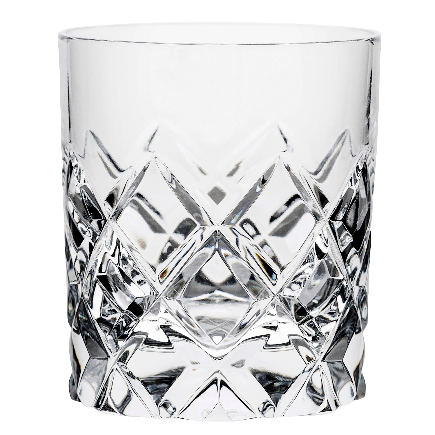 Orrefors Sofiero Crystal 8 Ounce Old Fashioned Glass, Set of 2