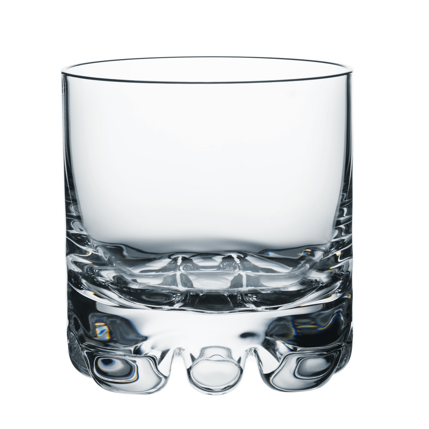 Orrefors Erik 12 Ounce DOF & 6.7 Ounce Highball Glasses, Set of 8