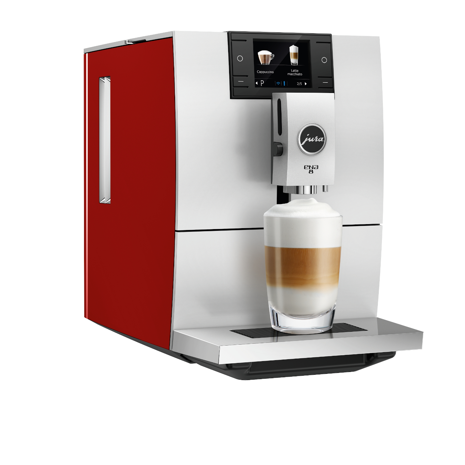 Jura ENA 8 Sunset Red Automatic Coffee Machine