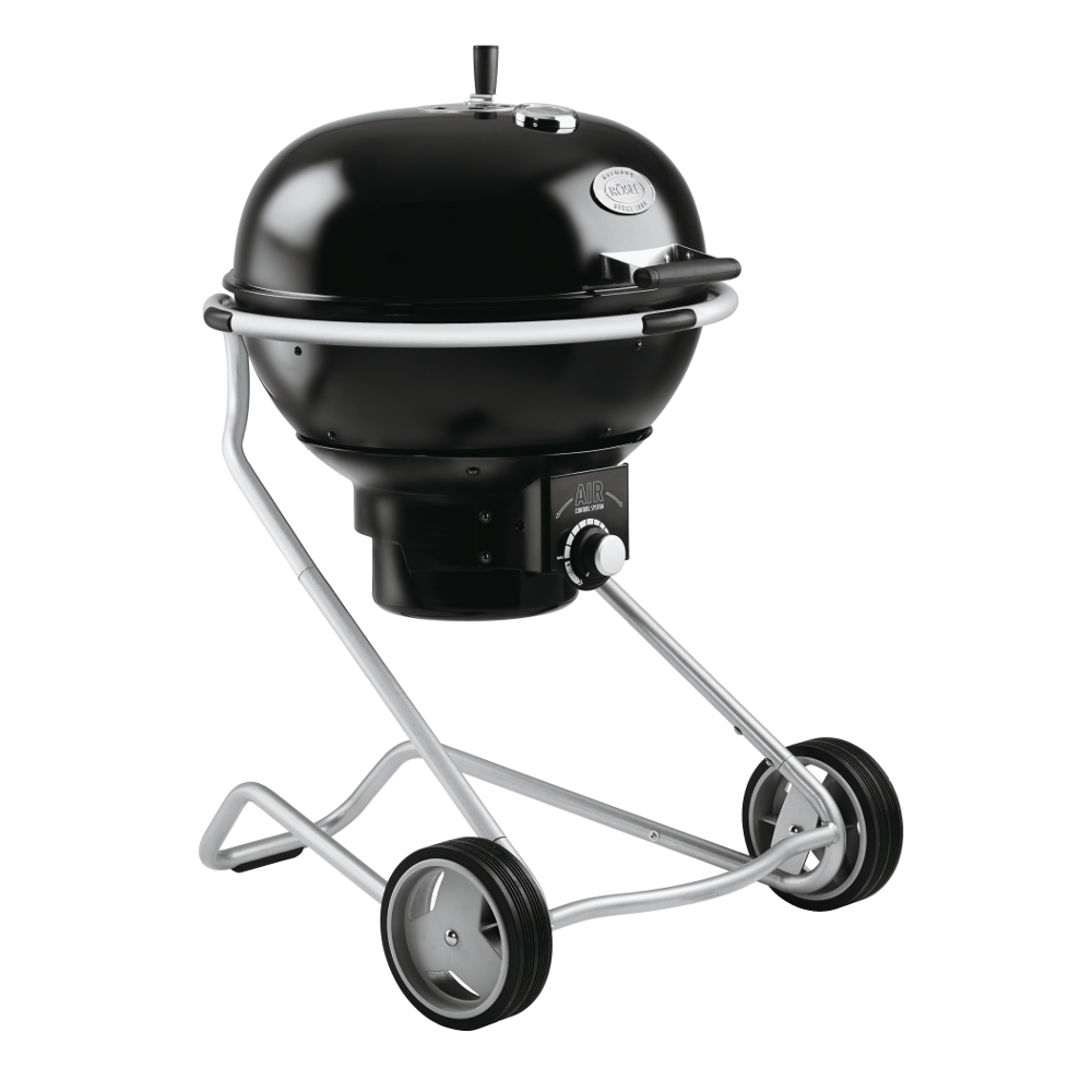 Rosle Black Enameled Steel Charcoal Kettle Grill No.1 Air F60