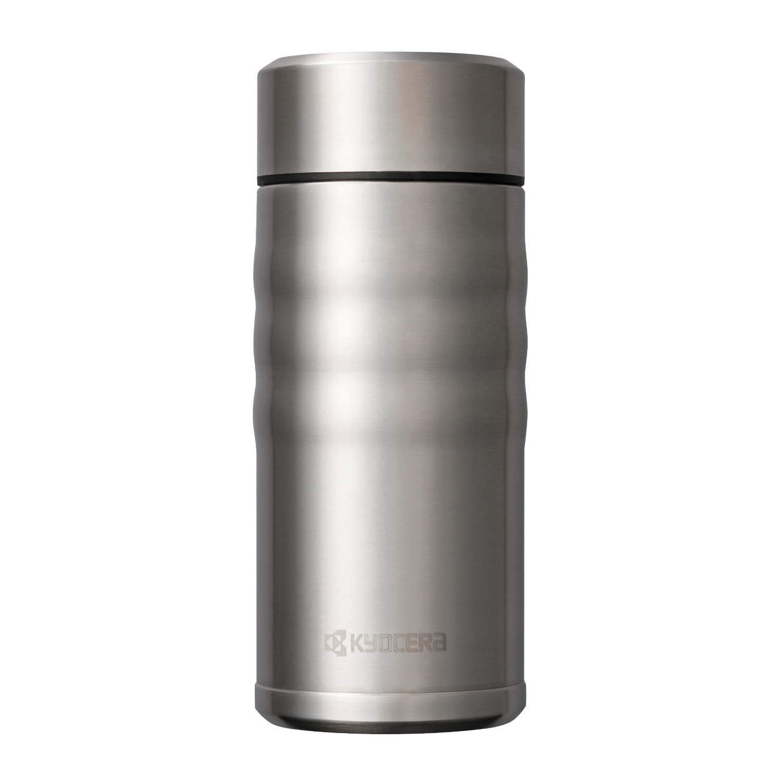 Kyocera Stainless Steel 12 Ounce Twist Top Insulated Travel Mug