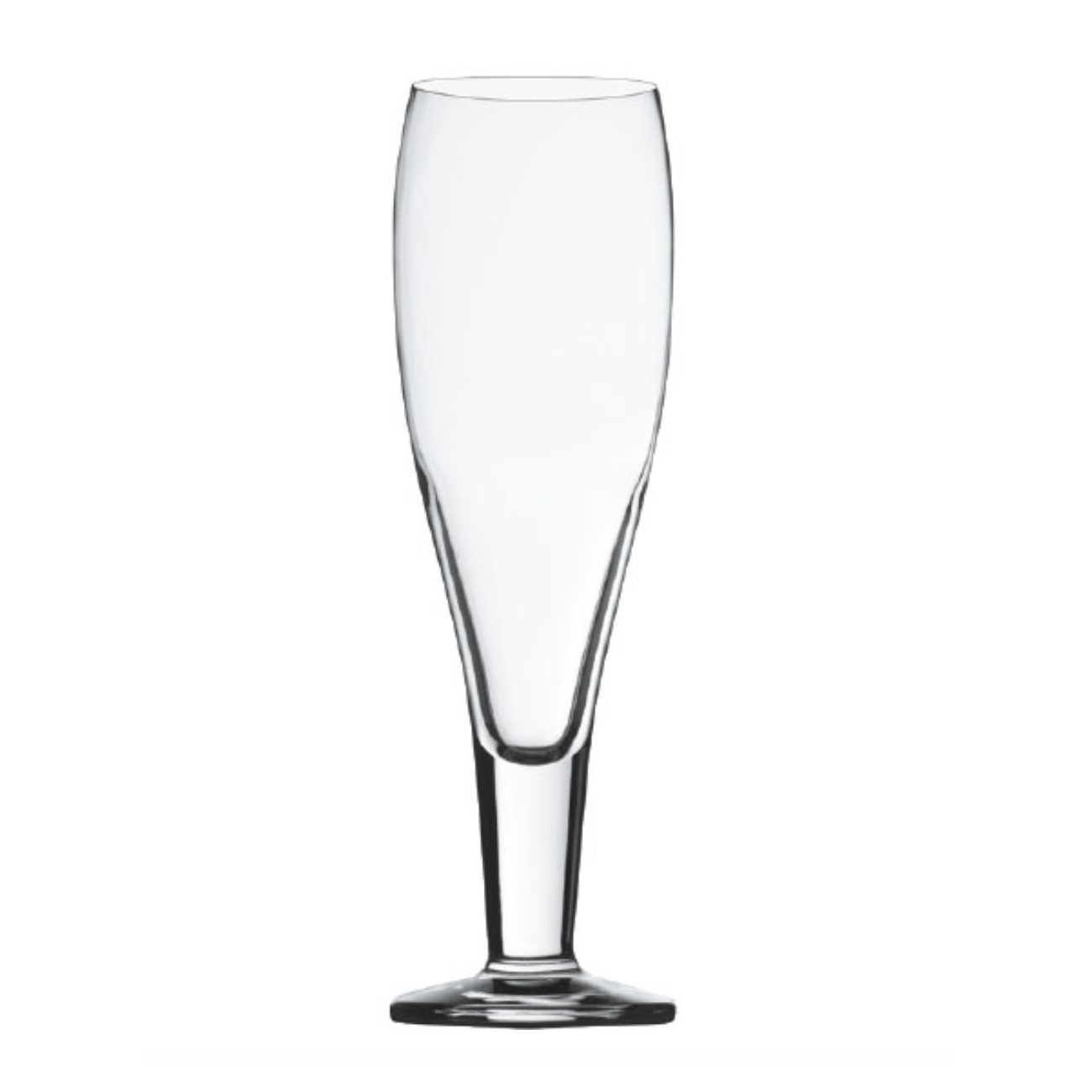 Stolzle Laustiz Bierpokale German Made Crystal Milano Beer Glass, Set of 6