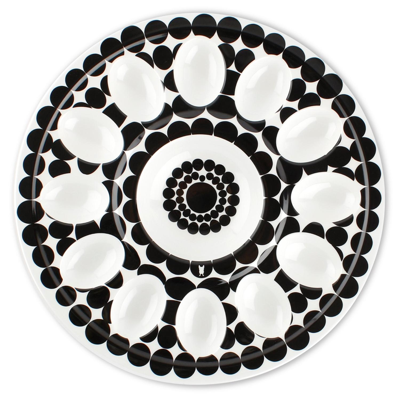 French Bull Foli 12 Inch Egg Platter