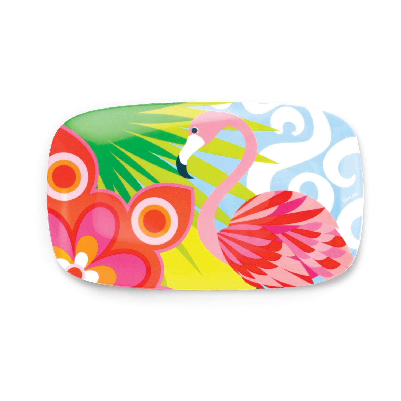 French Bull Tropic Fantasia Rectangular Platter