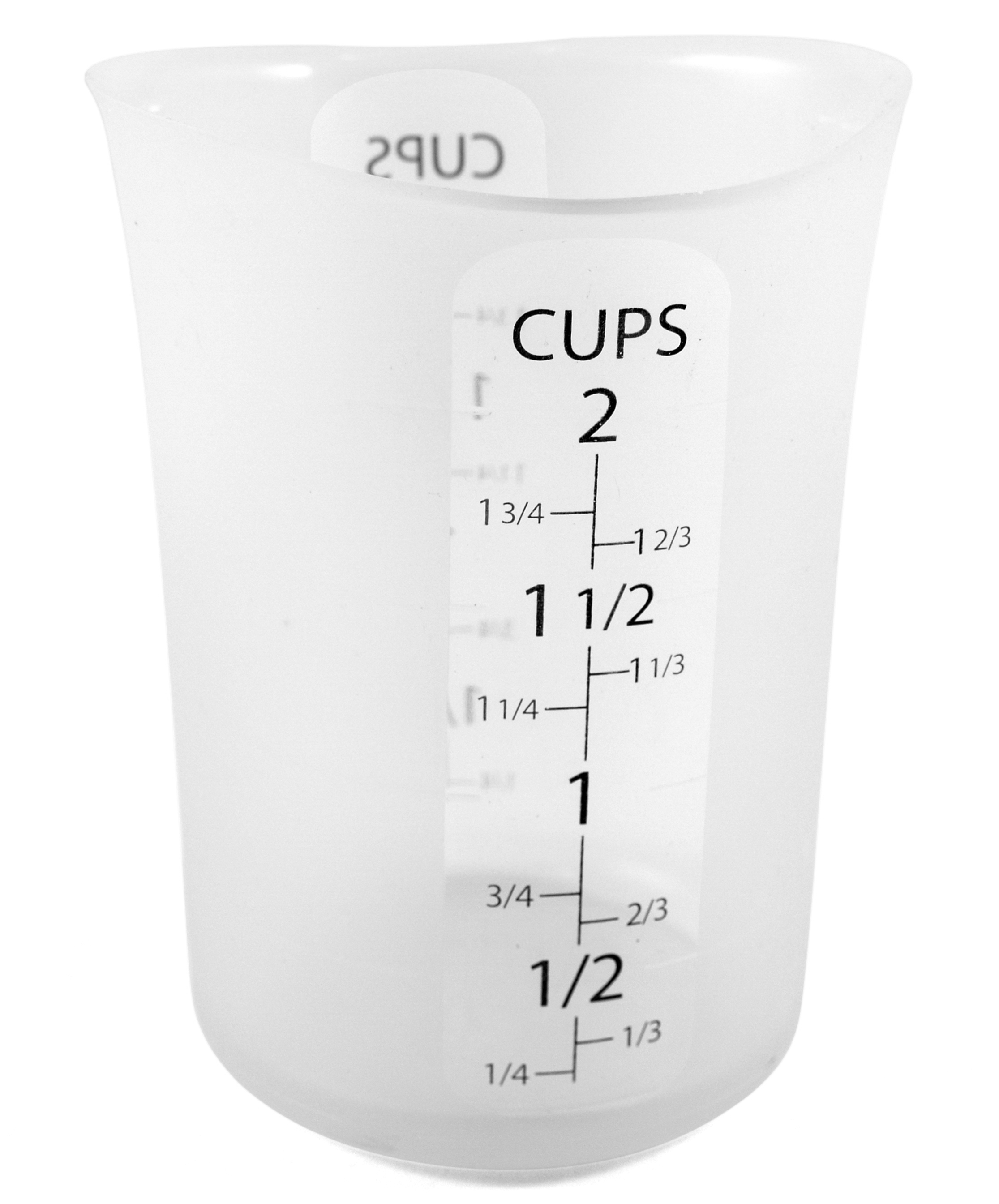 iSi Flex-it Clear Silicone 2-Cup Liquid Measuring Cup