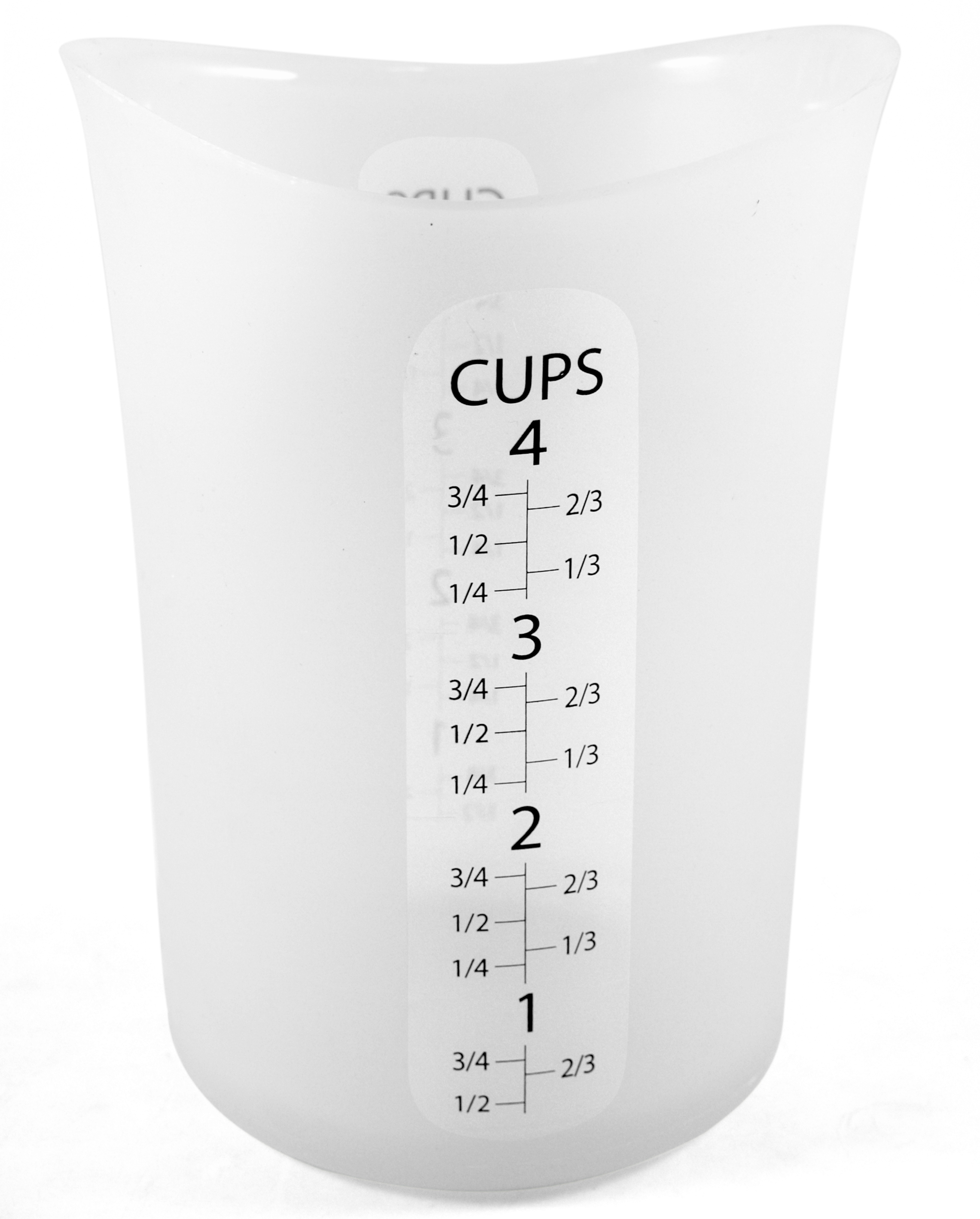 iSi Flex-it Clear Silicone 4-Cup Liquid Measuring Cup