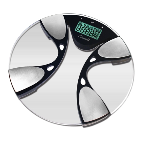 Escali Body Fat & Water Digital Bathroom Scale 440 Lb / 200 Kg
