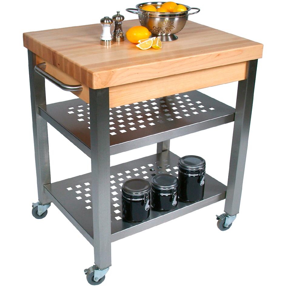 Cucina 4 X 4 john boos cucina technica end grain maple 2-1/4 inch
