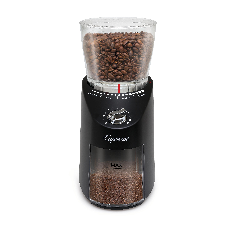 Capresso Infinity Plus Black Conical Burr Grinder