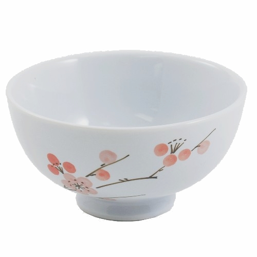 Cherry Blossom Traditional Asian Rice Bowl
