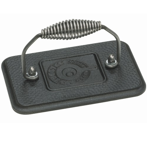 Lodge Logic Cast Iron Rectangular Grill Press