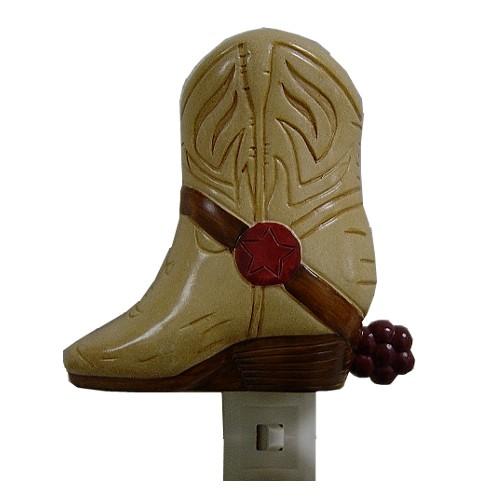 Laredo Western Cowboy Boot Decorative Night Light