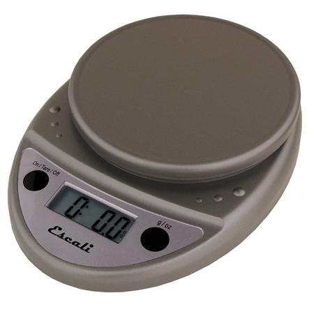 Escali Primo Metallic Digital Scale 11 lb / 5 Kg