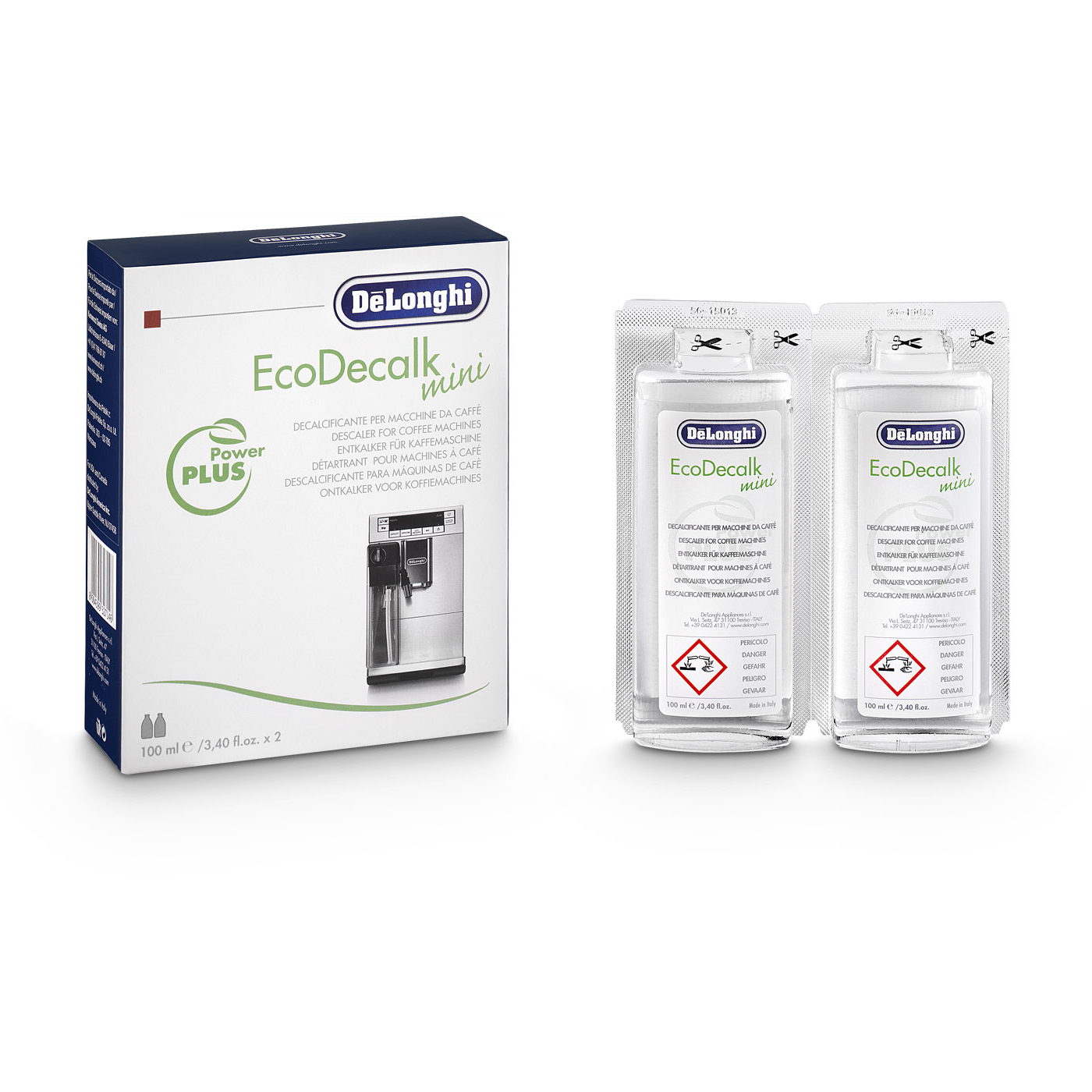 DeLonghi Eco 3.4 Ounce Mini Descaler, 4 Count