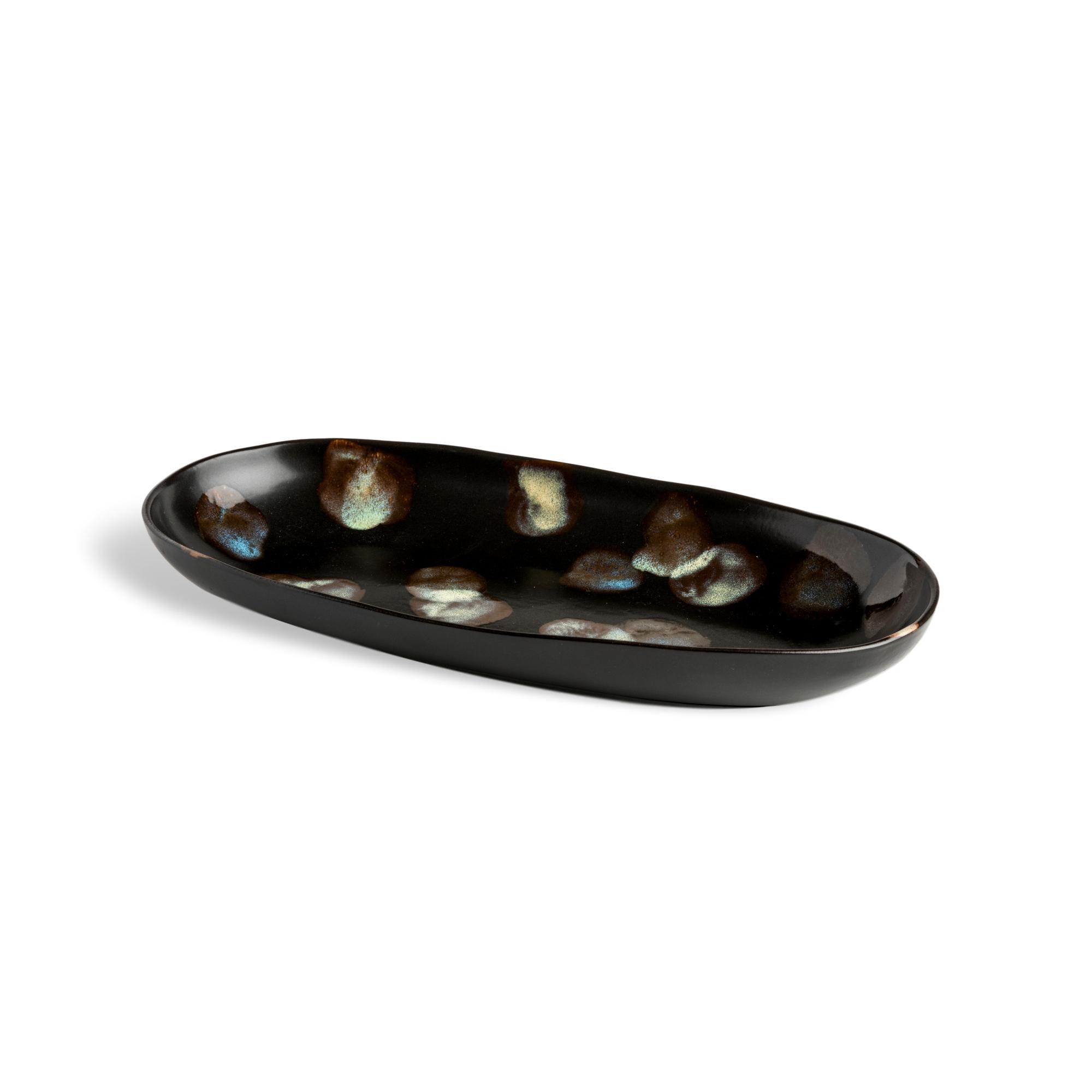 Carmel Ceramica Dappled Medium Oval Platter