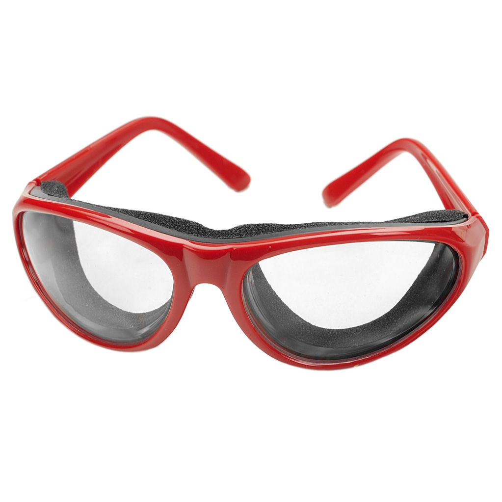 RSVP Pro-Style Red Tear Free Onion Chopping Goggles