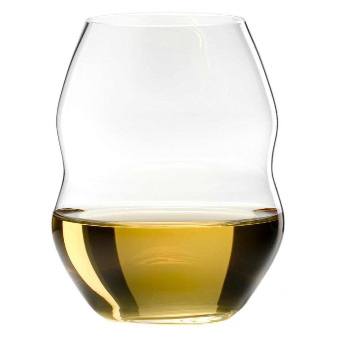 Riedel Swirl Stemless White Wine Glass, Set of 2