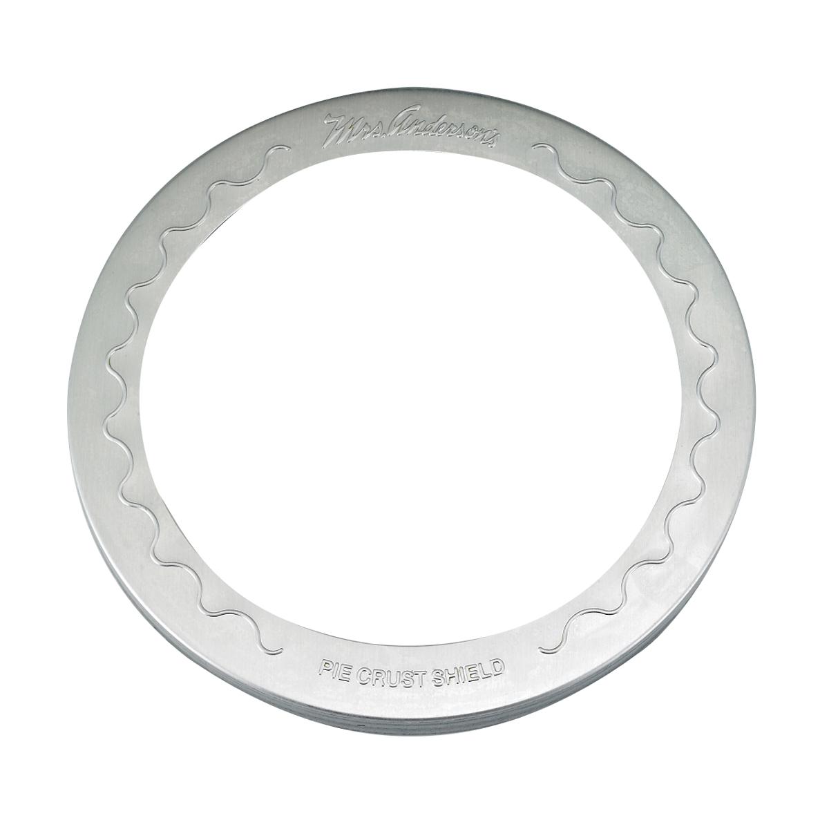 Mrs. Anderson's Baking Aluminum 9 Inch Reusable Pie Crust Shield