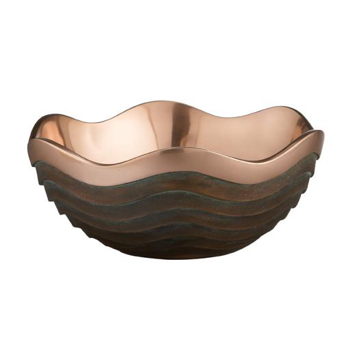 Nambe Copper Canyon Bowl, 2.5 Quart