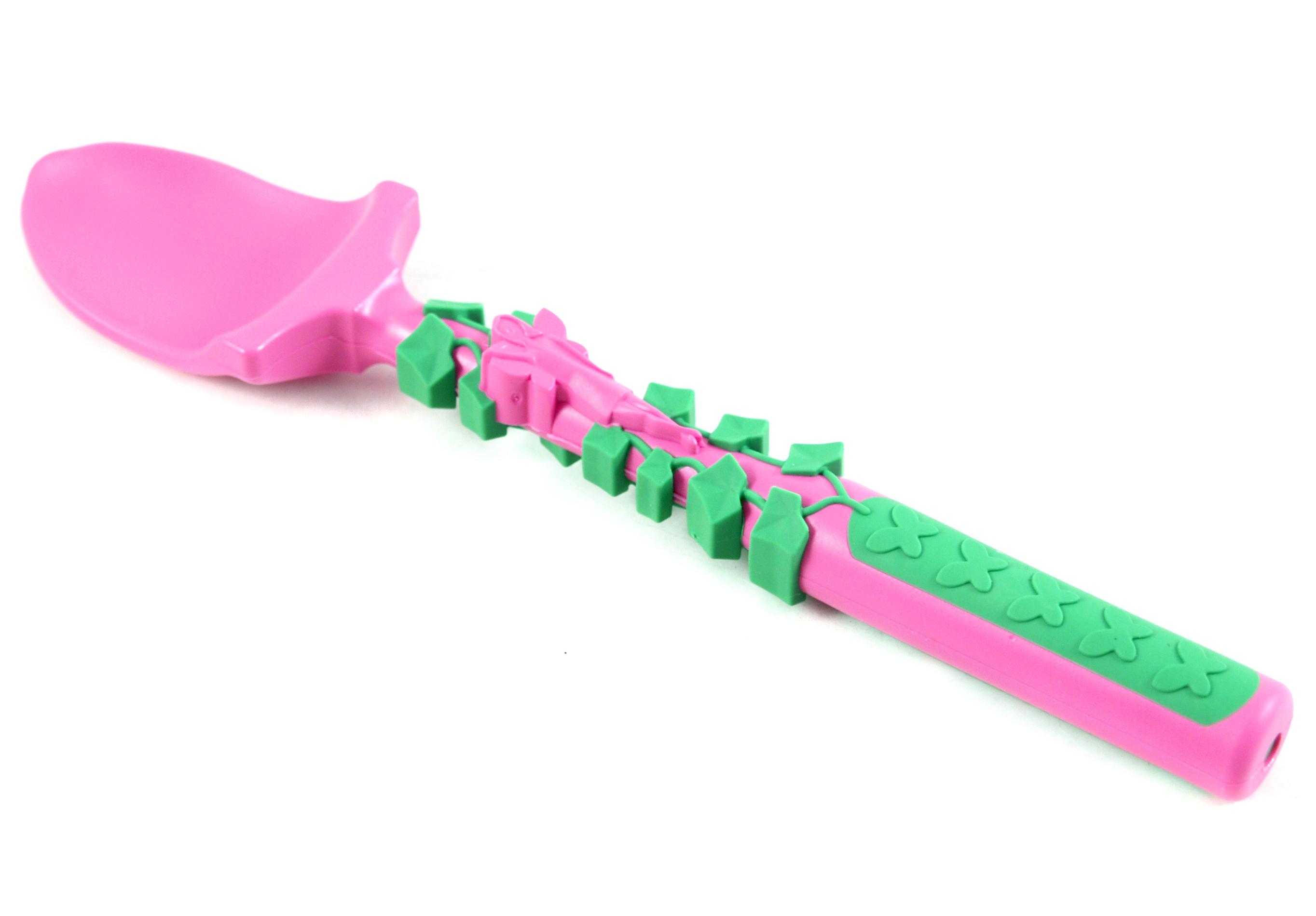 Constructive Eating Garden Fairy Vines Shovel Spoon Utensil
