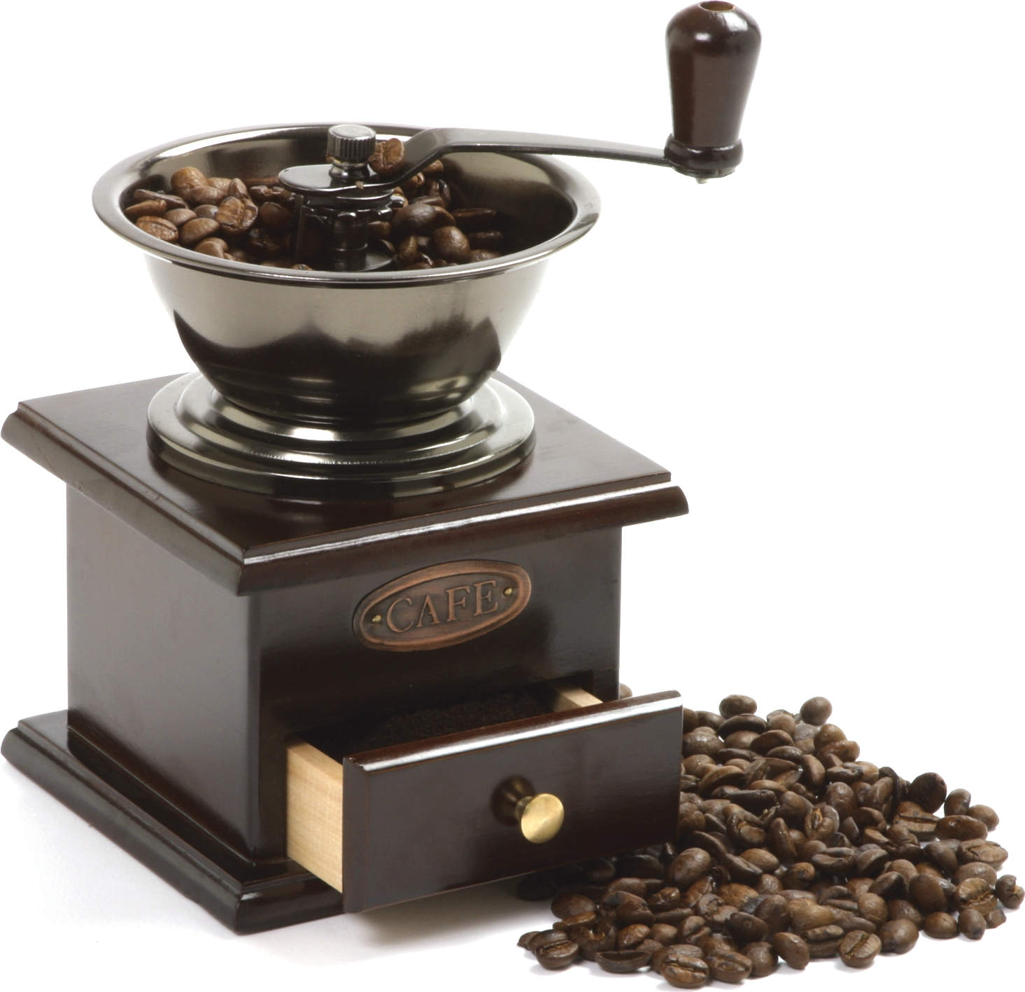 Norpro Steel and Wood Coffee Grinder