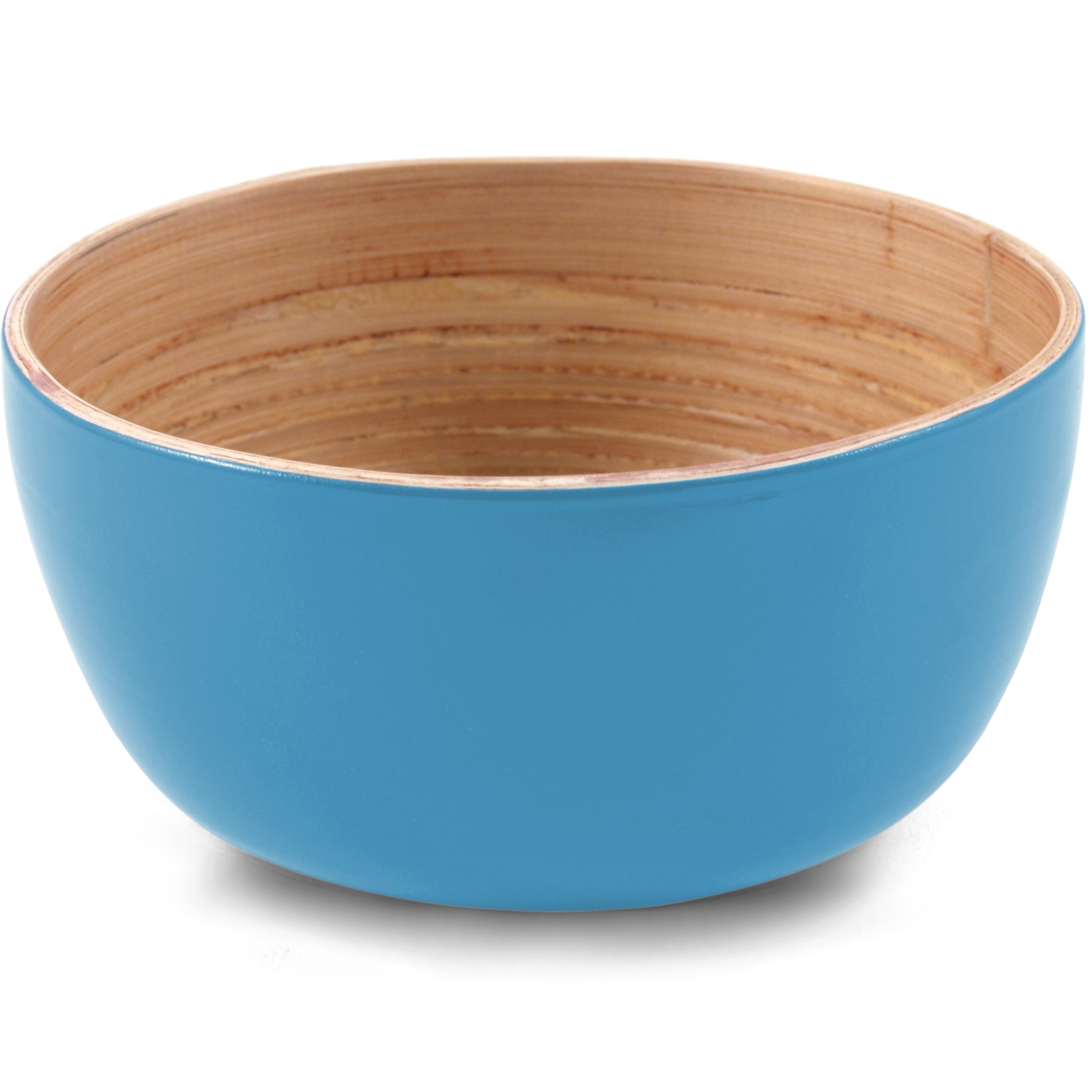 Core Bamboo Sky Blue Small Bowl, Set of 4